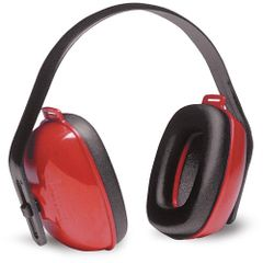 154-1205 Noise Blocking QM24+EARMUFF HOWARD LEIGHT RED