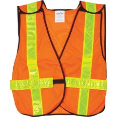 SEF093 Traffic Vests #563 ORANGE Medium ZENITH