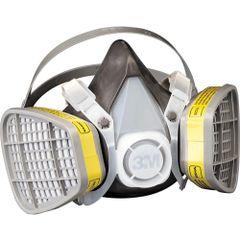 SI937 3M Maintenance-Free ORGANIC VAPOUR Respirators #5101 SMALL (MED/LRG)