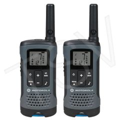 SFU791 T200 Two-Way Talkabout ® Radios Radio Band Type: UHF/GMRS/FRS Range: 32 km No. of Channels: 22 MOTOROLA