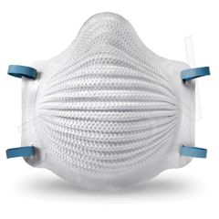 SEE821 Airwave N95 Respirators Size: Large/Medium Style: Cup Exhalation NO-Valve: N95 (10/BX) MOLDEX