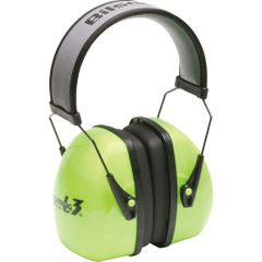 SAO695 Leightning® Hi-visibilty NRRdB 30 Earmuffs HOWARD LEIGHT #1013941 BRITE GREEN