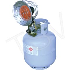 JG966 Sun Blast ® Single Tank-Top Radiant Heater PROPANE Min BTU Rating: 9000 / Max 15000 L.B.WHITE