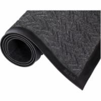 "SAX726 MATTING, Wiper/Scrapers - Ecoplus Color:CHARCOAL 3'W x 5'L : 3/8""TH (4 Sizes Available) MAT TECH"