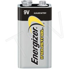 XB876 9V - Alkaline 9 V Industrial Batteries Voltage: 12/BOX ENERGIZER