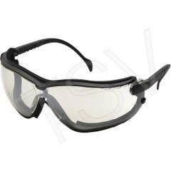 SFQ538 V2G ® Sealed Safety Eyewear Glasses CSA Z94.3/ANSI Z87+ Indoor/Outdoor Mirror Anti-Fog/Anti-Scratch PYRAMEX #GB1880ST (Headband Included)