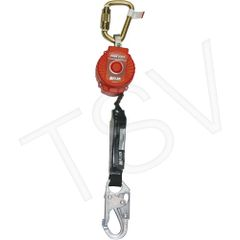 SAR481 TurboLite TM Personal Fall Limiters No. of SRLs: 1 Lifeline Length: 6' Lifeline Stainless Steel Cable Harness Connection: Hook HONEYWELL