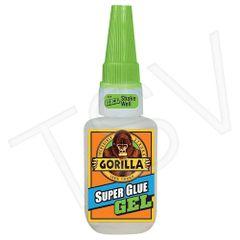 NKA494 Gorilla Super Glue Gel Format: 20 g Container Type: Bottle Colour: CLEAR GORILLA #7710101