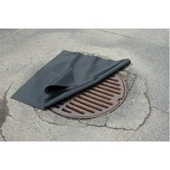 """SH104 Neoprene Drain Covers - 36"""" x 36"""" x 1/16"""" Resists Oil, Most Chemicals"""