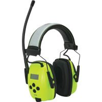 SEI616 Radio Digital Hi-Visibility Earmuffs Headband CSA Class: A NRRdB: 25 HOWARD LEIGHT