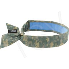 SEI645 Chill-Its® 6700CT Cooling Bandanas Camouflage Multi-Colour #12562 ERGODYNE