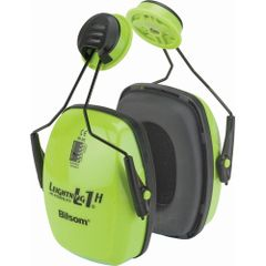 SAO691 Leightning® Hi-visibilty Earmuffs NRRdB 23 HOWARD LEIGHT #1015020 HI-VIZ BRIGHT GREEN
