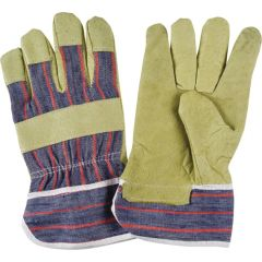 SM580 PIGSKIN GRAIN FITTERS GLOVE STANDARD QUALITY DEXTERITY SAFETY CUFF COTTON LINED ZENITH