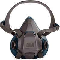 SEJ779 3M 6500 Series Half Facepiece Respirators #6501 SMALL (MED/LRG)