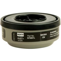 SEI596 #7500-1 N Series Gas/Vapour Respirator Cartridges NORTH 2/PK
