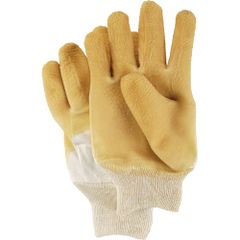 SC458 Nitty Gritty® Rubber Palm Coated Gloves, Knit Wrist, (Sz's Mens & Ladies) SHOWA