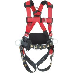 SEB360 Harness, CONSTRUCTION D-Rings BACK/SIDE Leg:TONGUE BUCKLE HIP PAD & BELT MED/LRG PROTECTA CSA CLASS A, P