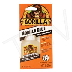NKA499 Gorilla Glue Format: 2 oz. Container Type: Squeeze Bottle Colour: White Application Time: 5 min. GORILLA #5202101C