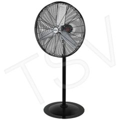 "EA666 ***LIMITED QUANTITY*** Heavy-Duty Oscillating Pedestal Fan 30"" Pedestal Speeds: 3 MATRIX"