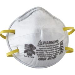 SAM402 3M 8110S N95 Particulate Respirators 20/BX SMALL SIZE