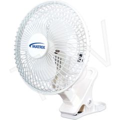 "EA304 ***LIMITED QUANTITY*** FAN - 6"" Clip-On for Desk 2-Speed MATRIX"