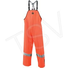 SDL917 Contractor - BIB PANTS High-Visibility (SML-3XL) ORANGE HELLY HANSEN