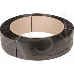 "PF071 Polypropylene Strapping 1/2""W X 750LB Strength X 5600FT 6Wx16Core BLACK SAMUEL #M1275EMB056B6"