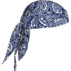 SEC680 Chill-Its® 6615 Cooling Dew Rags NAVY WESTERN #12480 ERGODYNE