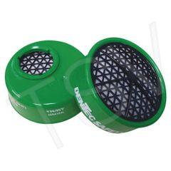 SFU927 Respirator Gas/Vapor Cartridge Ammonia/Methylamine DENTEC 2/PACK