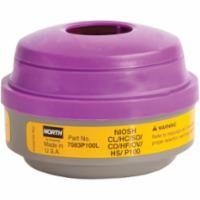 SEI604 Combination N Series #7583P100L Gas/Vapour/P100 Filter Respirator Cartridges NORTH