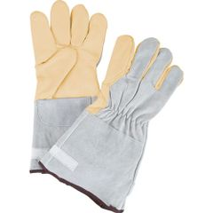 SEE313 Goat Grain Premium Quality Fleece-Lined Gloves, Medium - XLARGE ZENITH