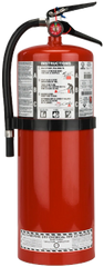 SA444 Steel Dry Chemical ABC Fire Extinguishers 20LB Type: Class A/B/C Rating: 10A:120BC Range: 10' - 15'