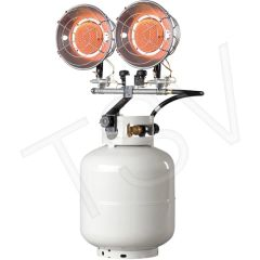 EA292 Double Tank-Top Radiant Heaters PROPANE Min BTU Rating: 8000/ Max 30000 ENERCO