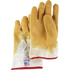SC459 Nitty Gritty® Rubber Palm Coated Gloves, Safety Cuff, MENS #66NFW SHOWA