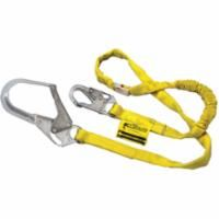 SC984 Lanyards Manyard® Shock-Absorbing One Leg Locking REBAR Hook (4'L,5'L,6'L & 8'L Available) Miller®