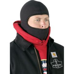 SEE075 Balaclavas Fleece Head Warmer One Colour: One size fits all #16821 ERGODYNE