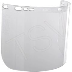 """138-1070 Jackson Safety* F20 Polycarbonate Faceshields Height: 8"""" Width: 15-1/2"""" Thickness: 0.06"""" Material: Polycarbonate KIMCLARK PRO"""