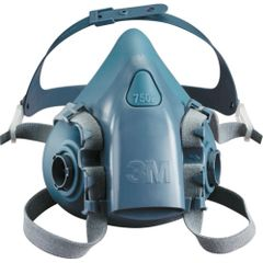 SAG264 3M 7500 Series Reusable Half Facepiece Respirators #7501 SMALL (MED/LRG)