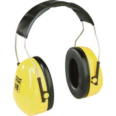 SC172 3M HEADBAND PeltorTM NRRdB 25 OptimeTM 98 Series Earmuffs #H9A YELLOW
