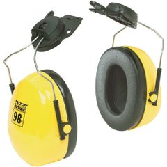 SC173 3M CAP MOUNT PeltorTM NRRdB 23 OptimeTM 98 Series Earmuffs YELLOW