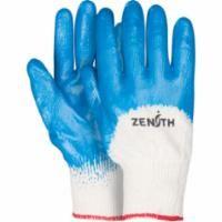 SAM646 Medium Weight Nitrile 3/4 Coated Gloves 13-gauge (SZ`s 7-10) ZENITH