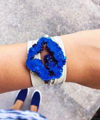 Metallic Blue Wrap