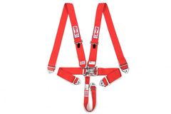 5 Point Harness Red