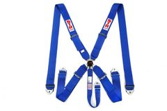 5 Point Harness blue Camlock