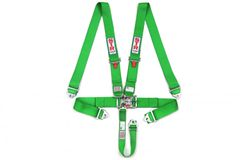 5 Point Harness Green