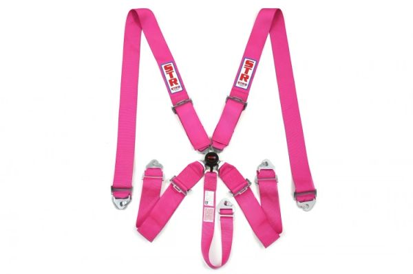 5 Point Harness Pink Camlock | motorsport