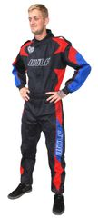 Proban fireproof overalls RED BLUE AND BLACK