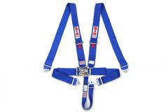 5 Point harness blue