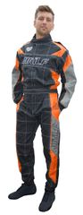 BRAND NEW 2018 FIREPROOF OVERALLS ORANGE GREY AND BLACK