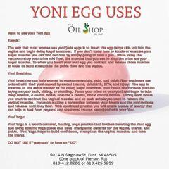 Yoni Egg Uses